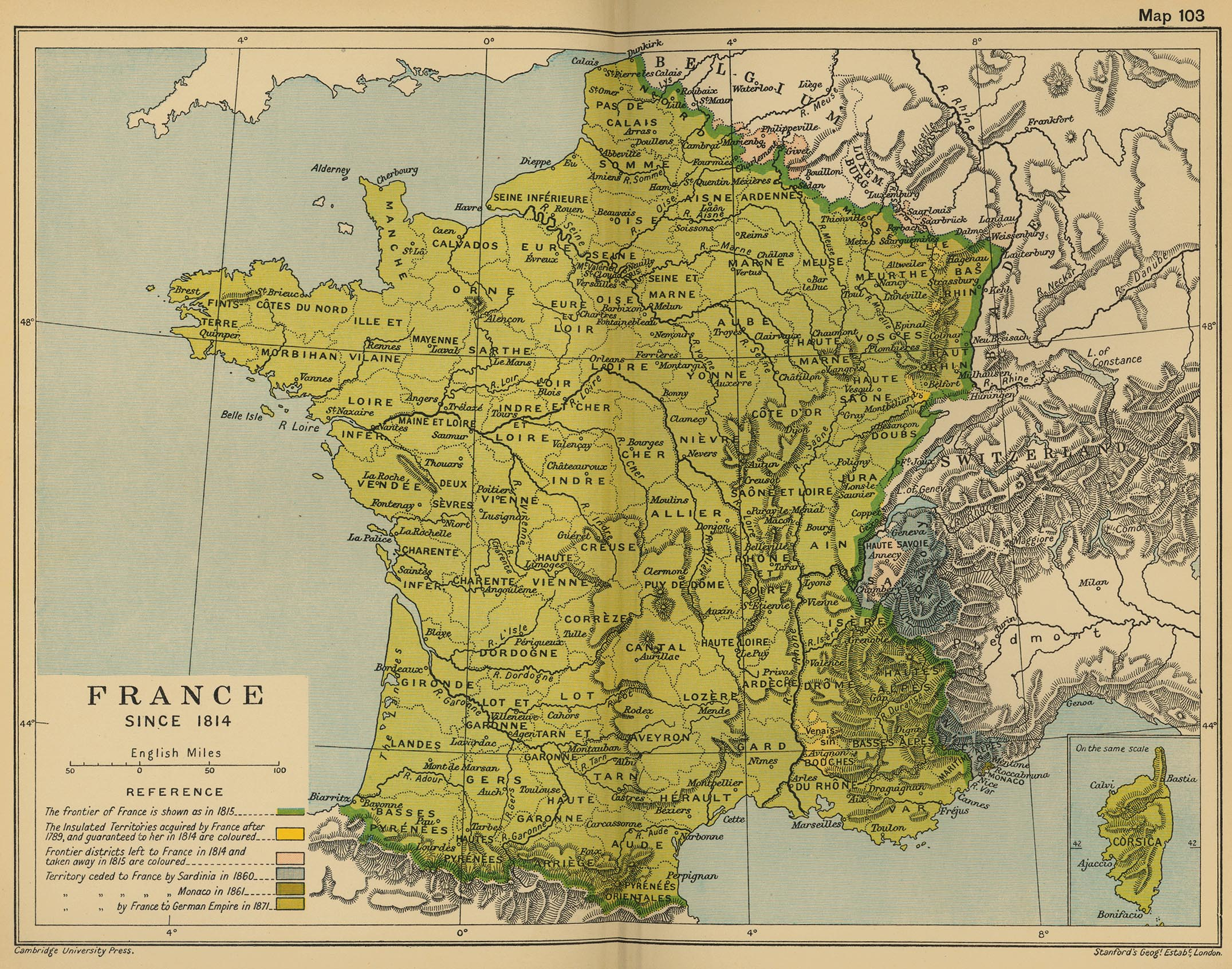 Historical Maps of France