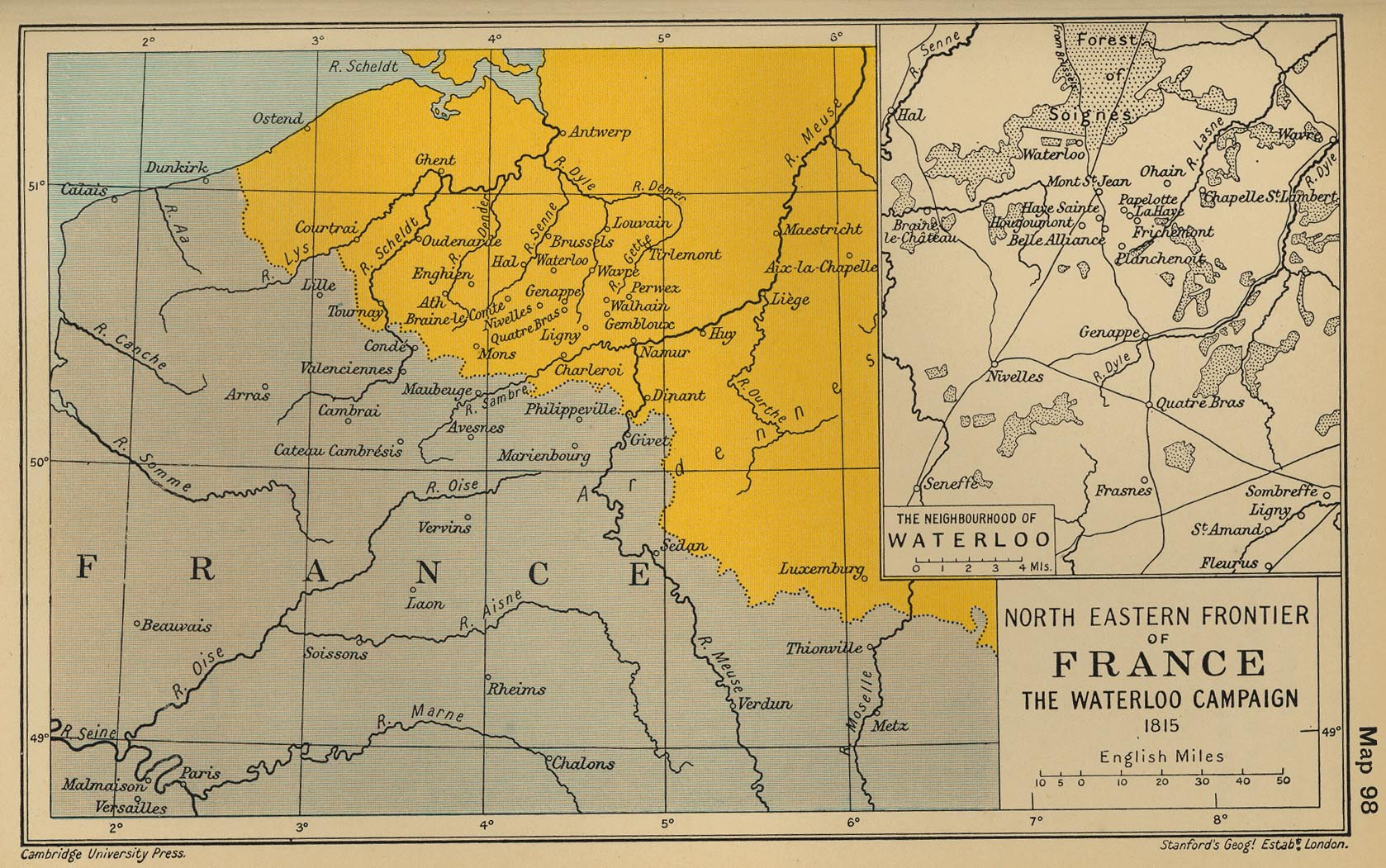Map Of France North.Historical Maps Of France