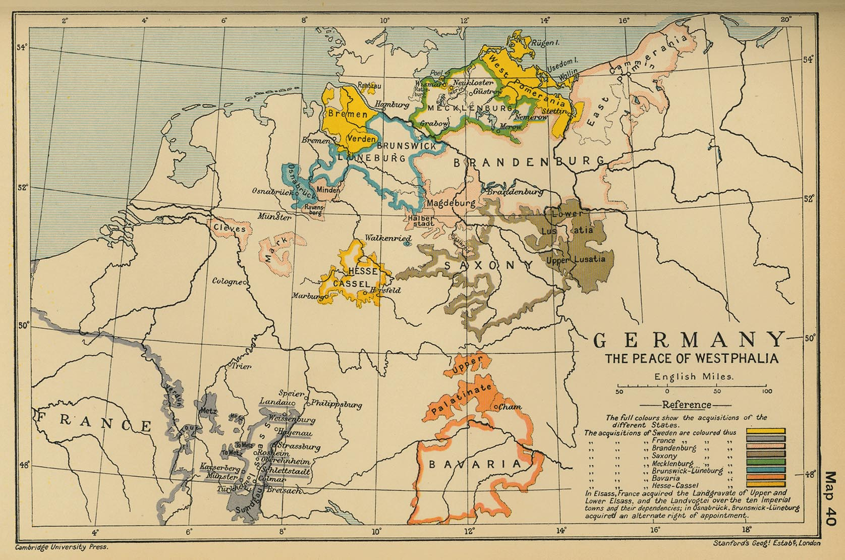 germany the peace of westphalia