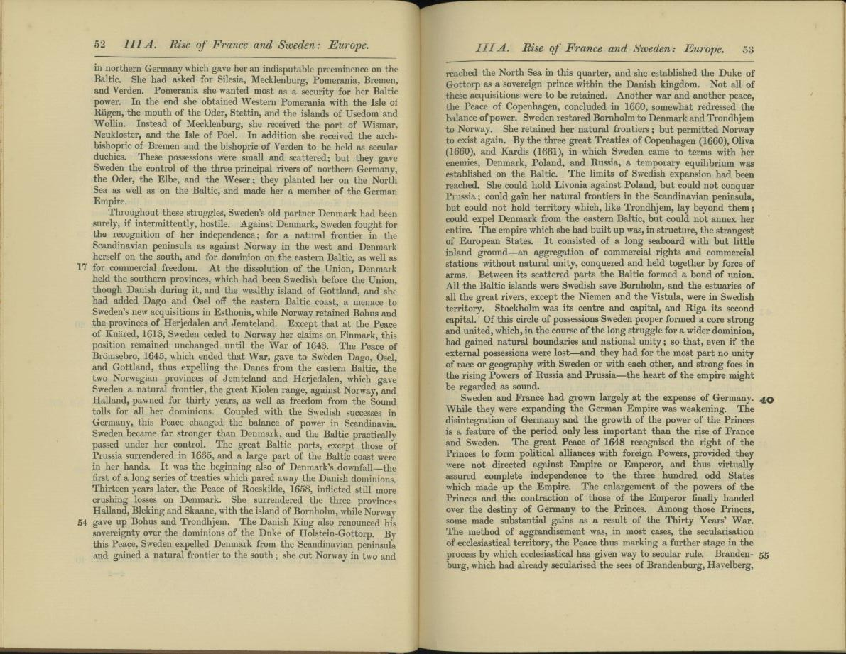 Introduction to Cambridge Modern History Atlas, 1912 - Perry