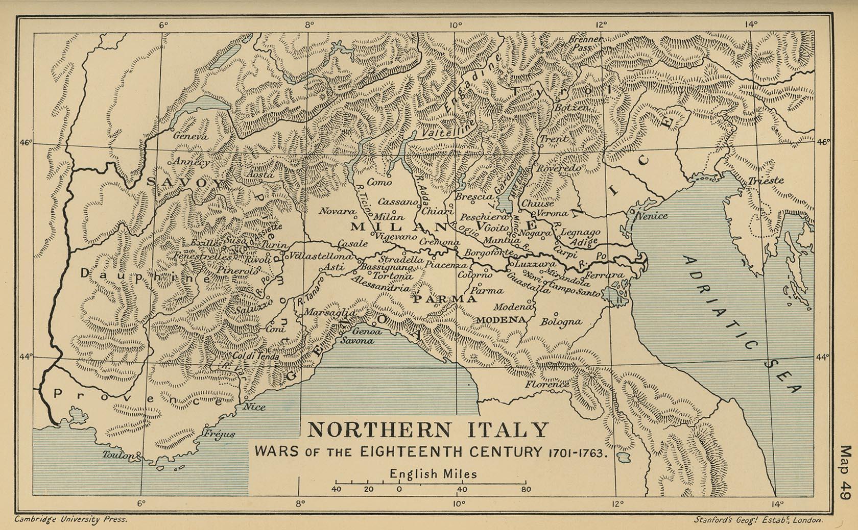 Cambridge Modern History Atlas 1912 PerryCastaeda Map Collection