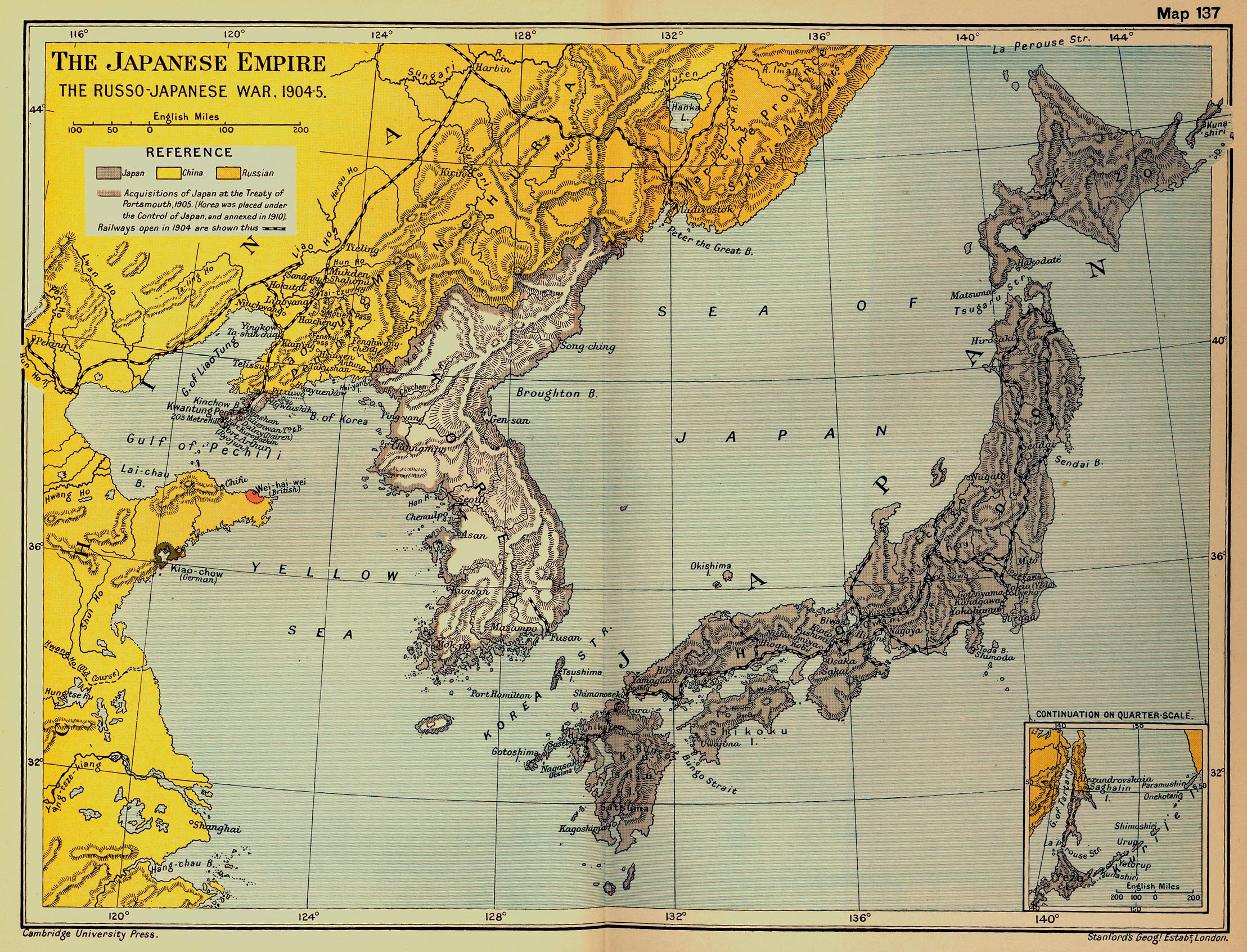 Historical Maps Of Japan - Japan map 1600