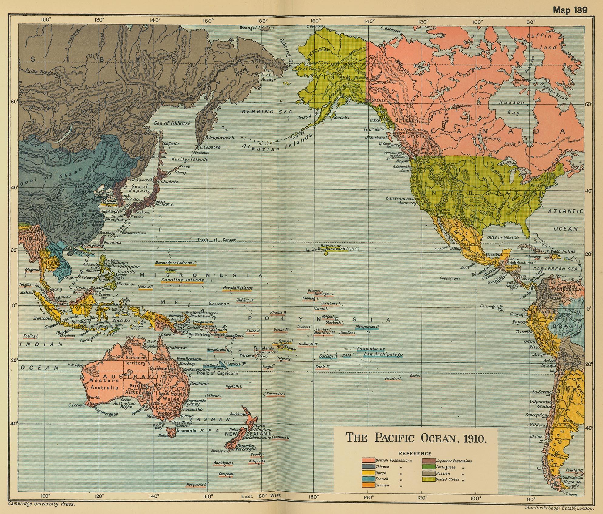Maps World Map Pacific Ocean - Usa map oceans