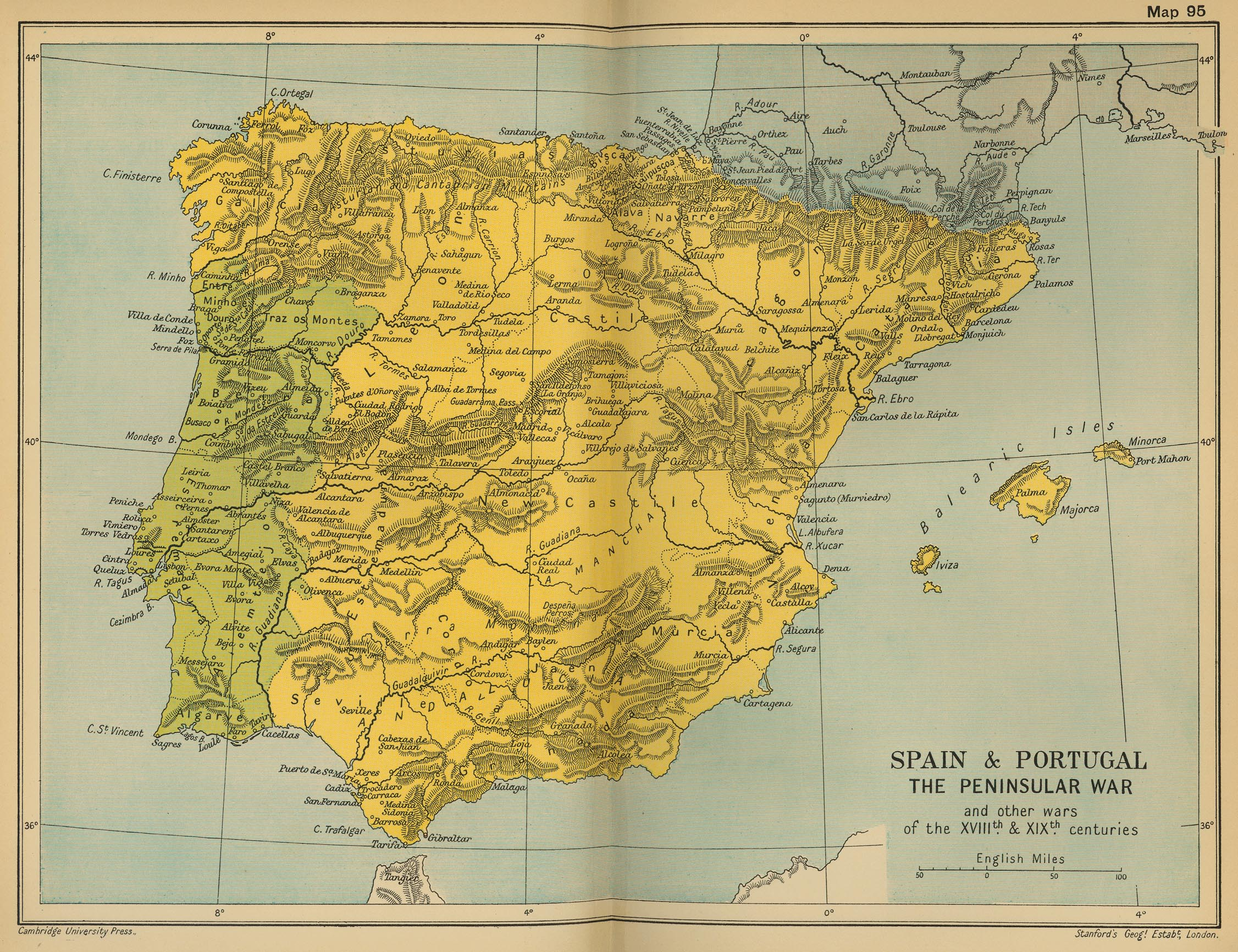 Historical Maps Of Spain And Portugal - Portugal map 1500