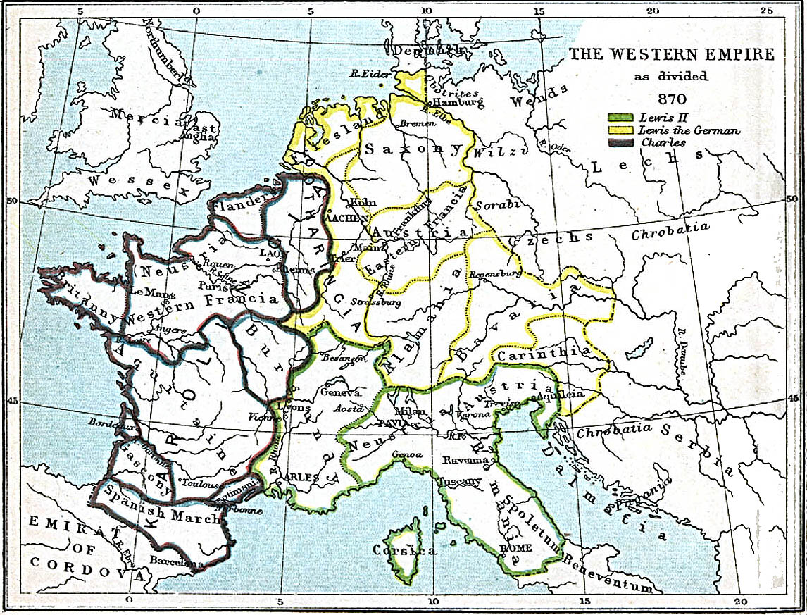 Map Of Europe 1780.Historical Maps
