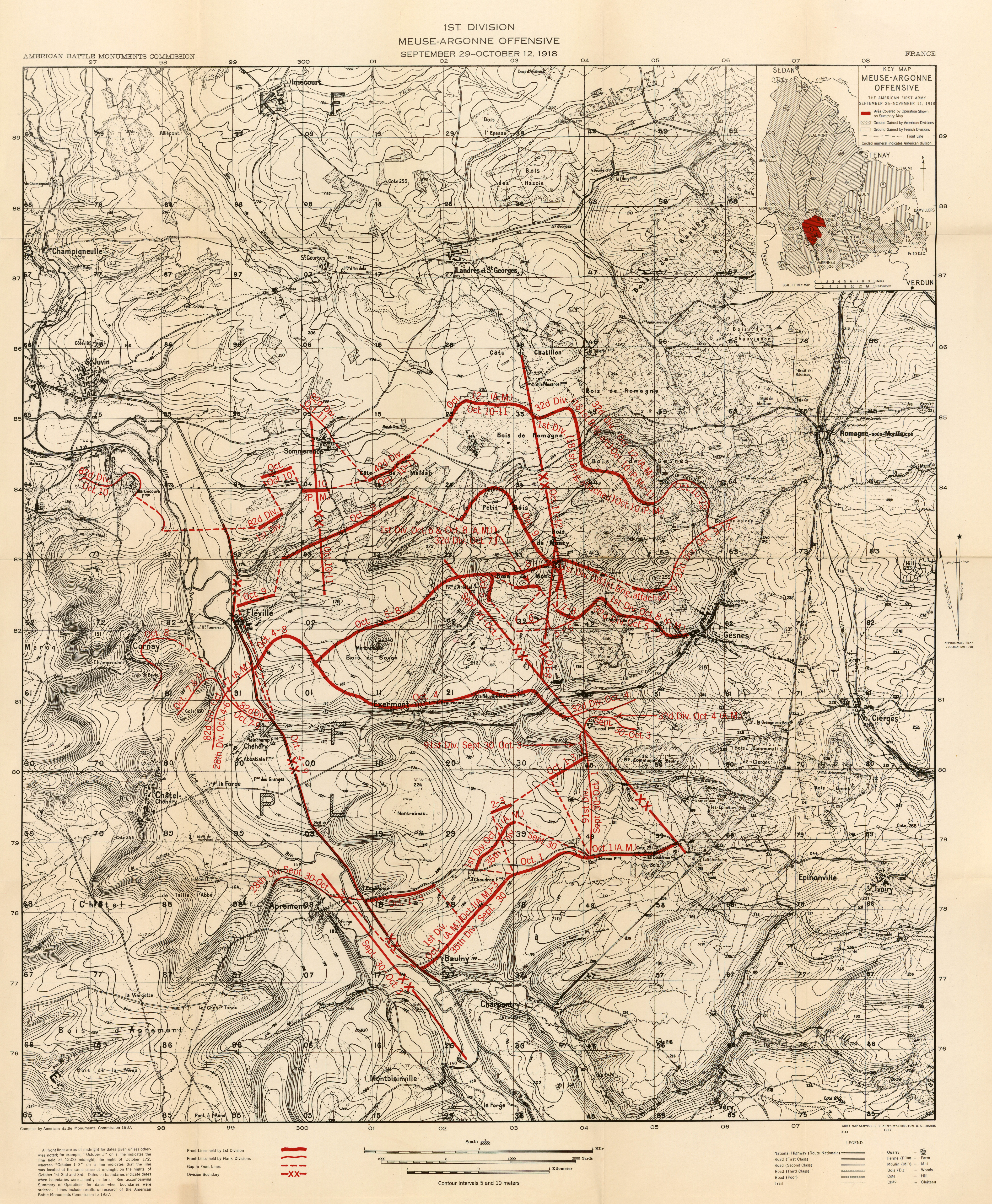 Summary of operations in the world war perry castaeda map summary of operations in the world war maps gumiabroncs Gallery