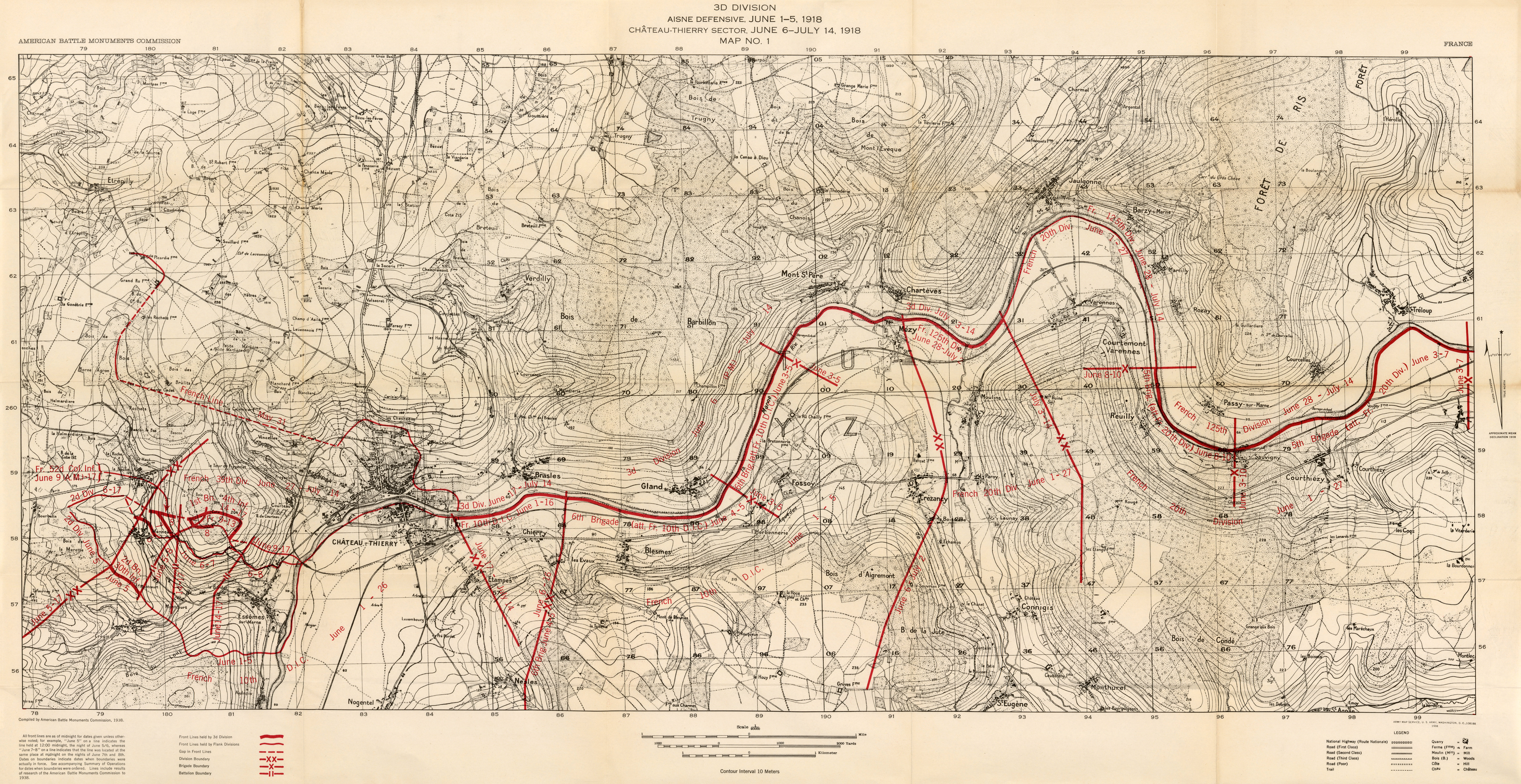 Summary of operations in the world war perry castaeda map 1 119mb gumiabroncs Image collections