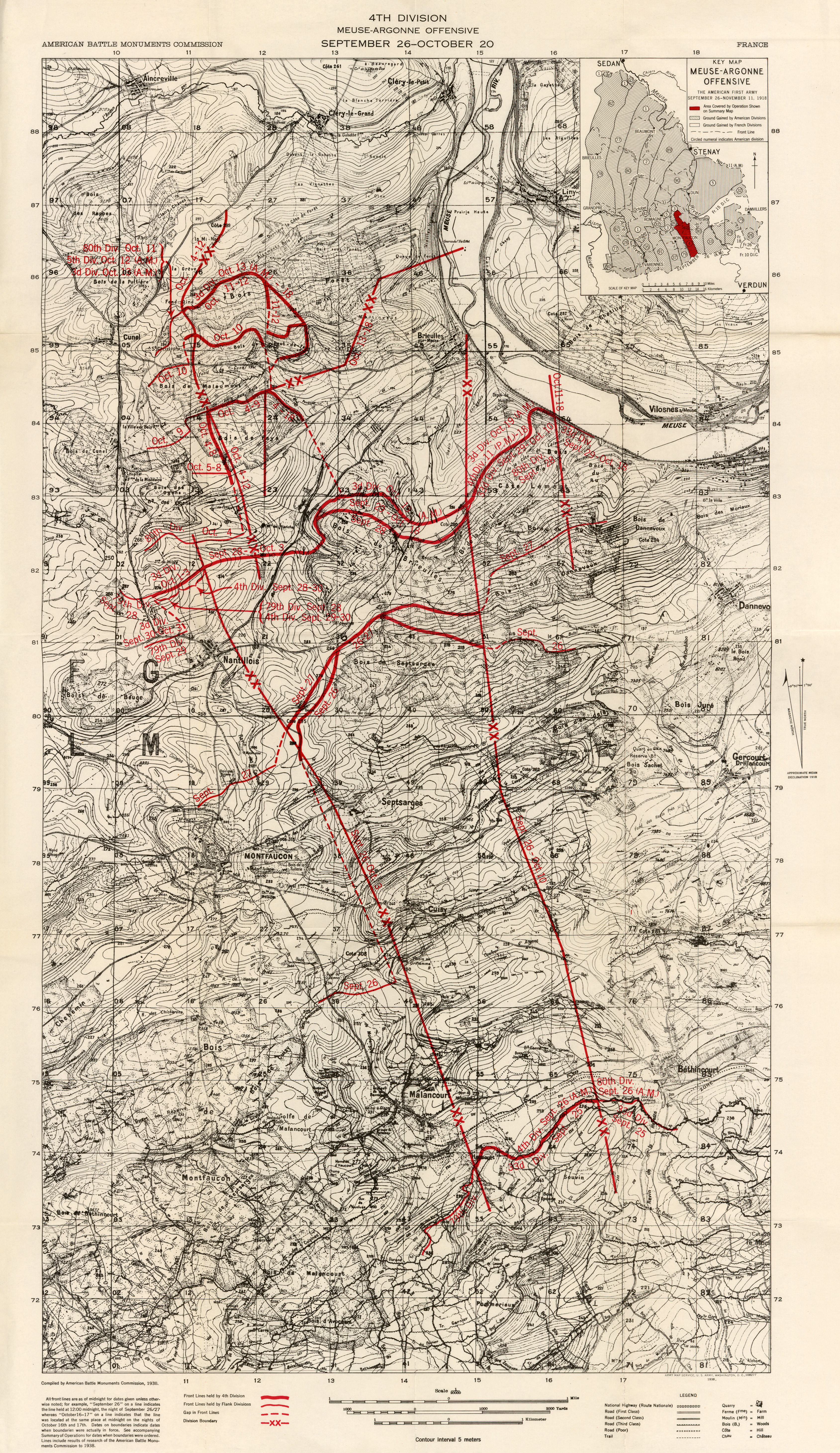 Summary Of Operations In The World War PerryCastañeda Map - Us map of republican city