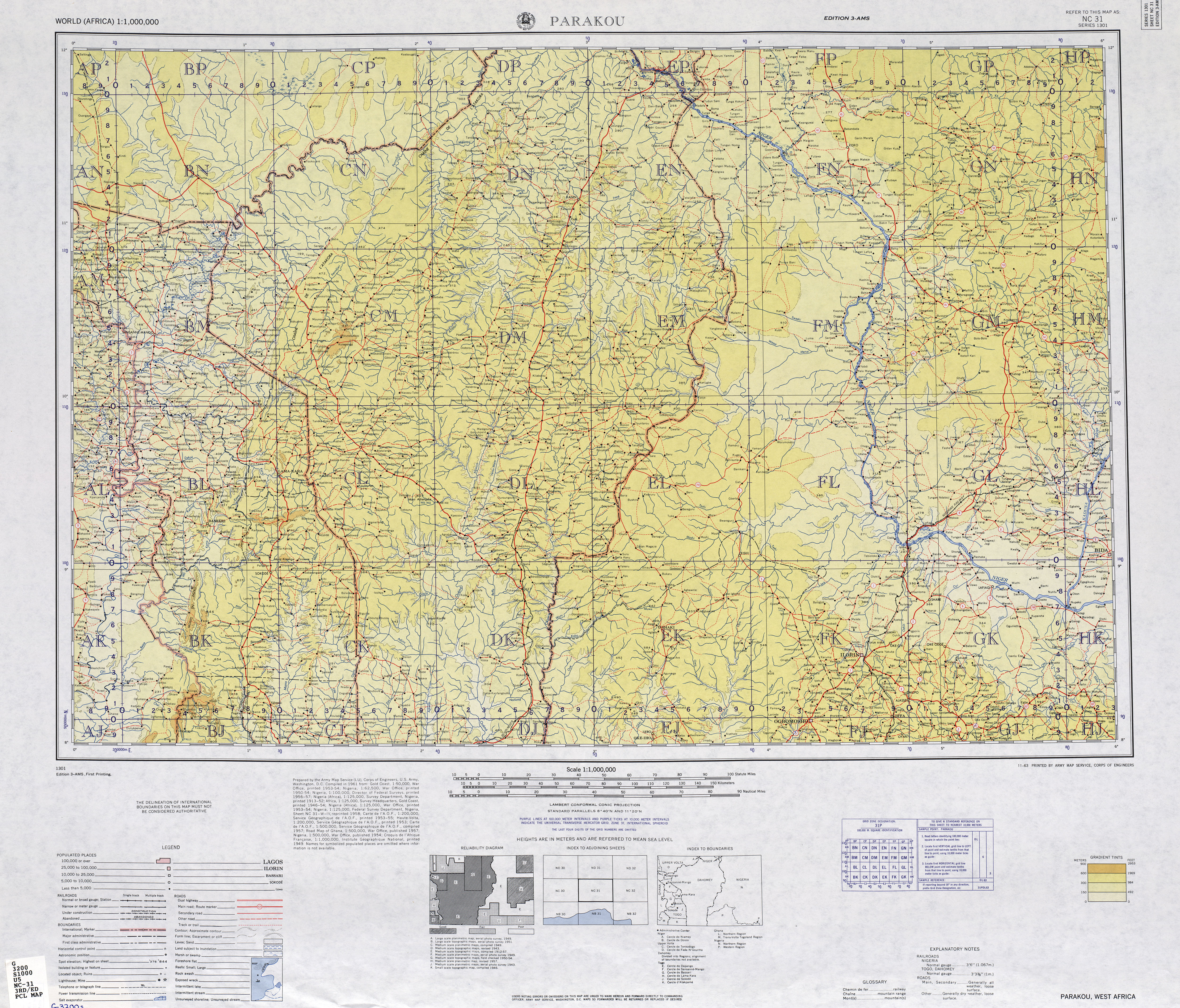 International Map of the World PerryCastaeda Map Collection UT