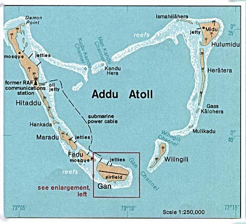 Maldives - Republic of maldives map