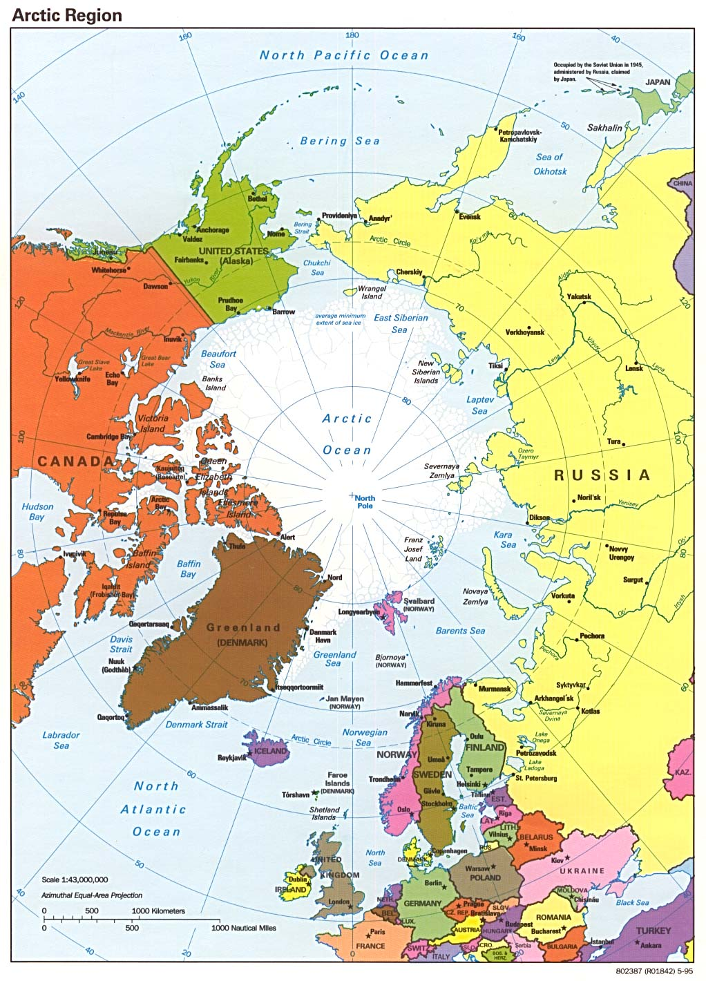 Polar regions and oceans maps perry castaeda map collection map collection gumiabroncs Images