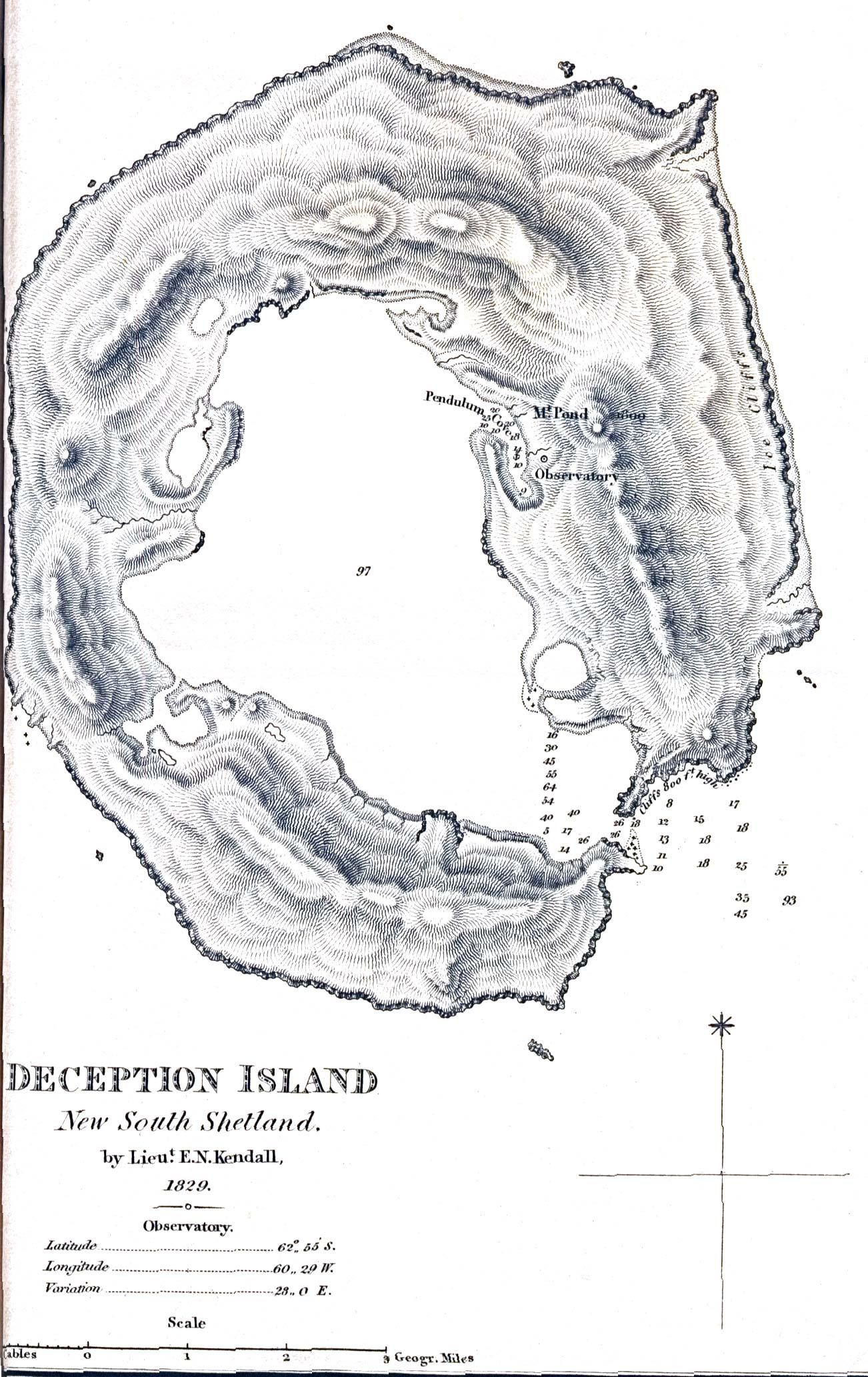 carte datant de 1829, libre de droit