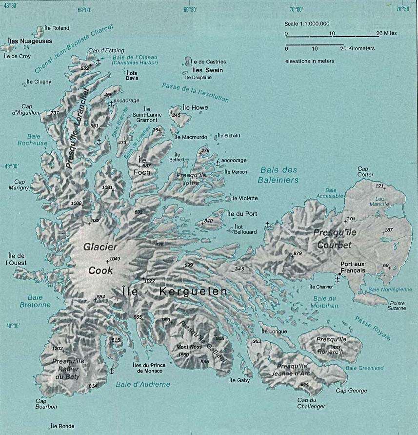Indian ocean maps perry castaeda map collection ut library online french southern and antarctic lands kerguelen islands gumiabroncs Images
