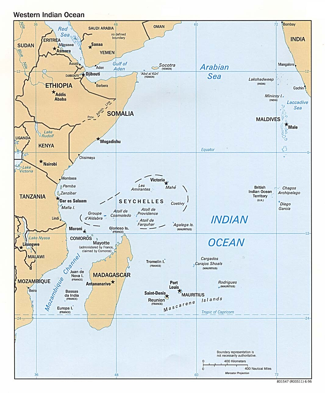 Indian Ocean Maps - Perry-Castañeda Map Collection - UT Library Online
