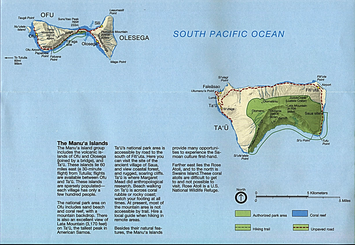 American Samoa Maps PerryCastaeda Map Collection UT Library Online