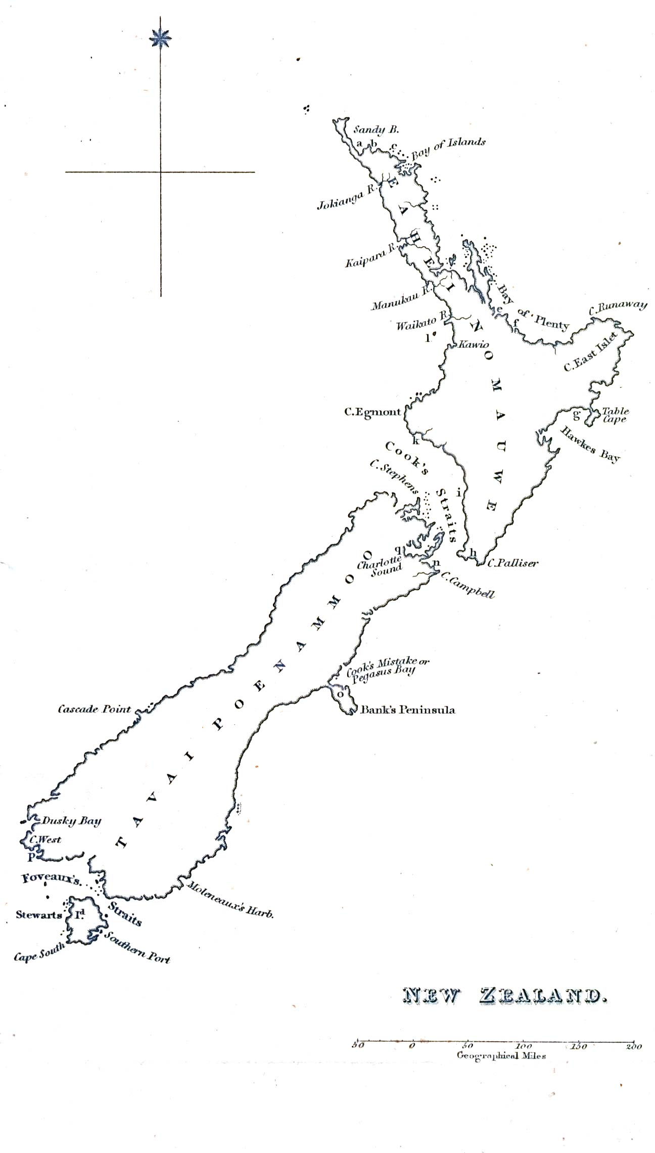 Line Drawing New Zealand Map : Australia and the pacific historical maps perry