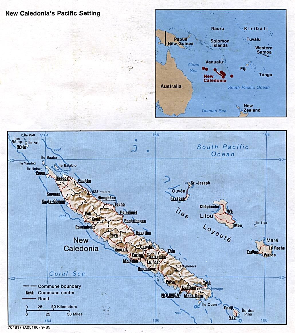 MapsOfNewCaledonia