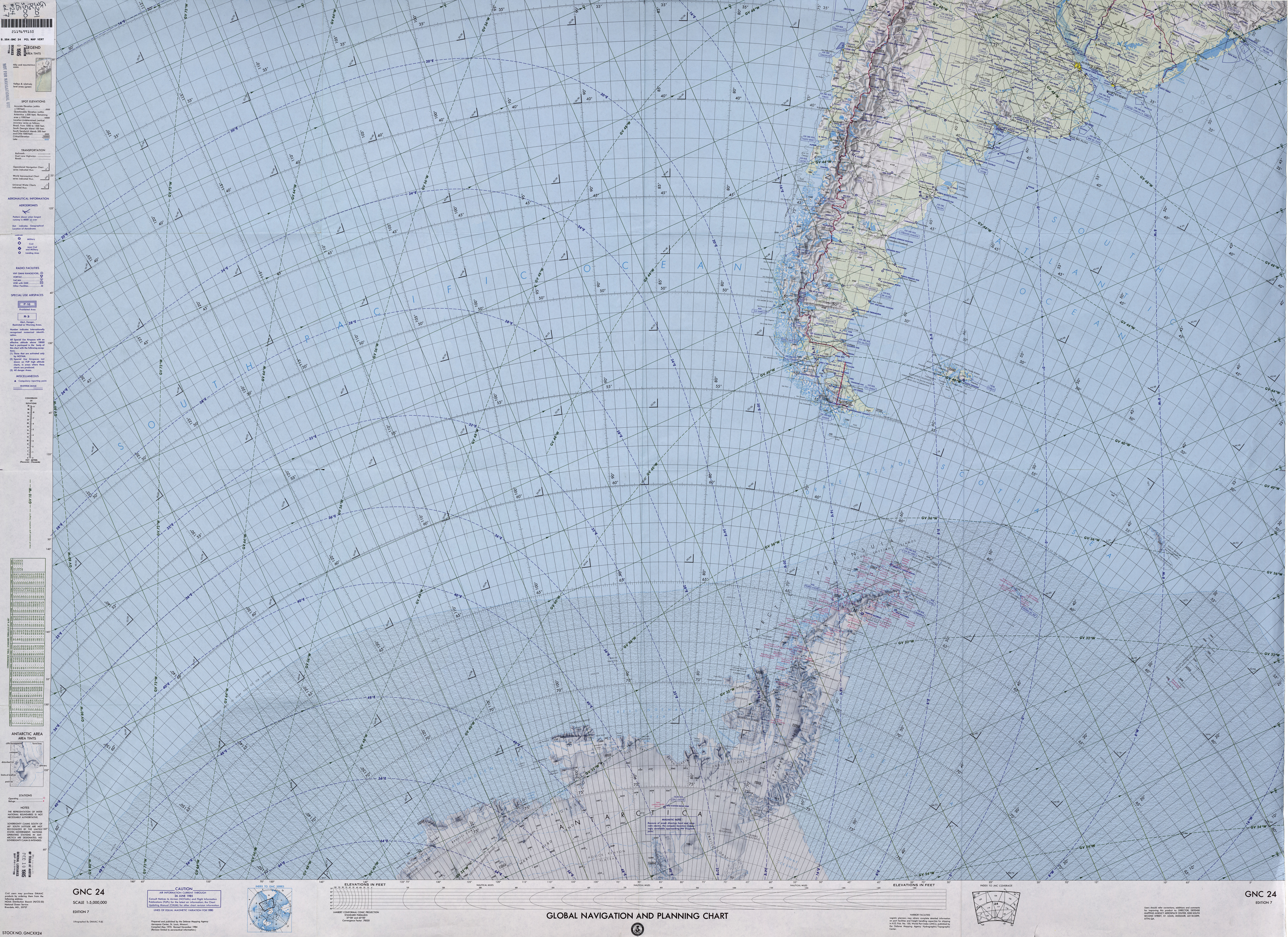 Polar Regions and Oceans Maps - Perry-Castañeda Map Collection - UT ...