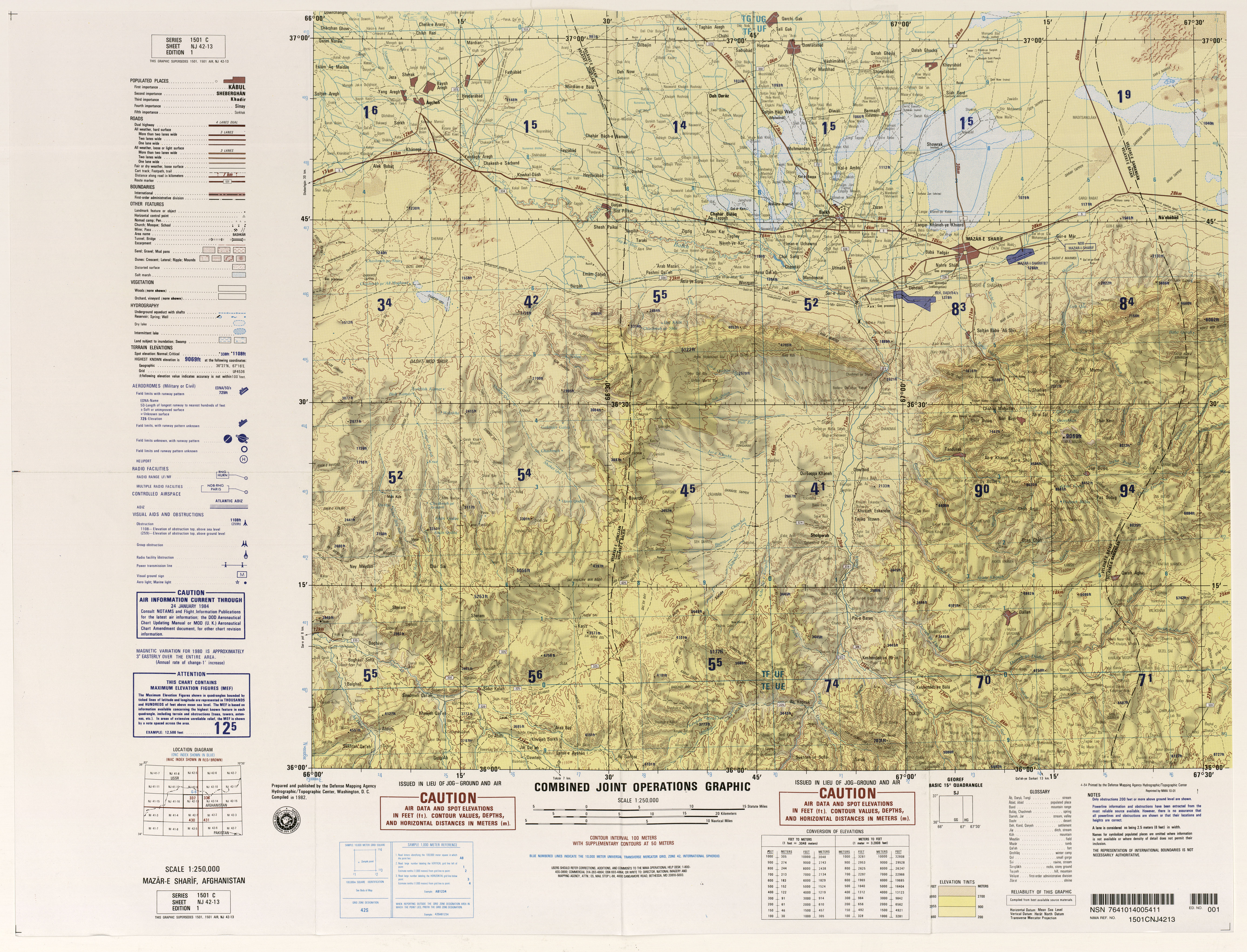 Russia Joint Operations Graphic - Perry-Castañeda Map Collection ...