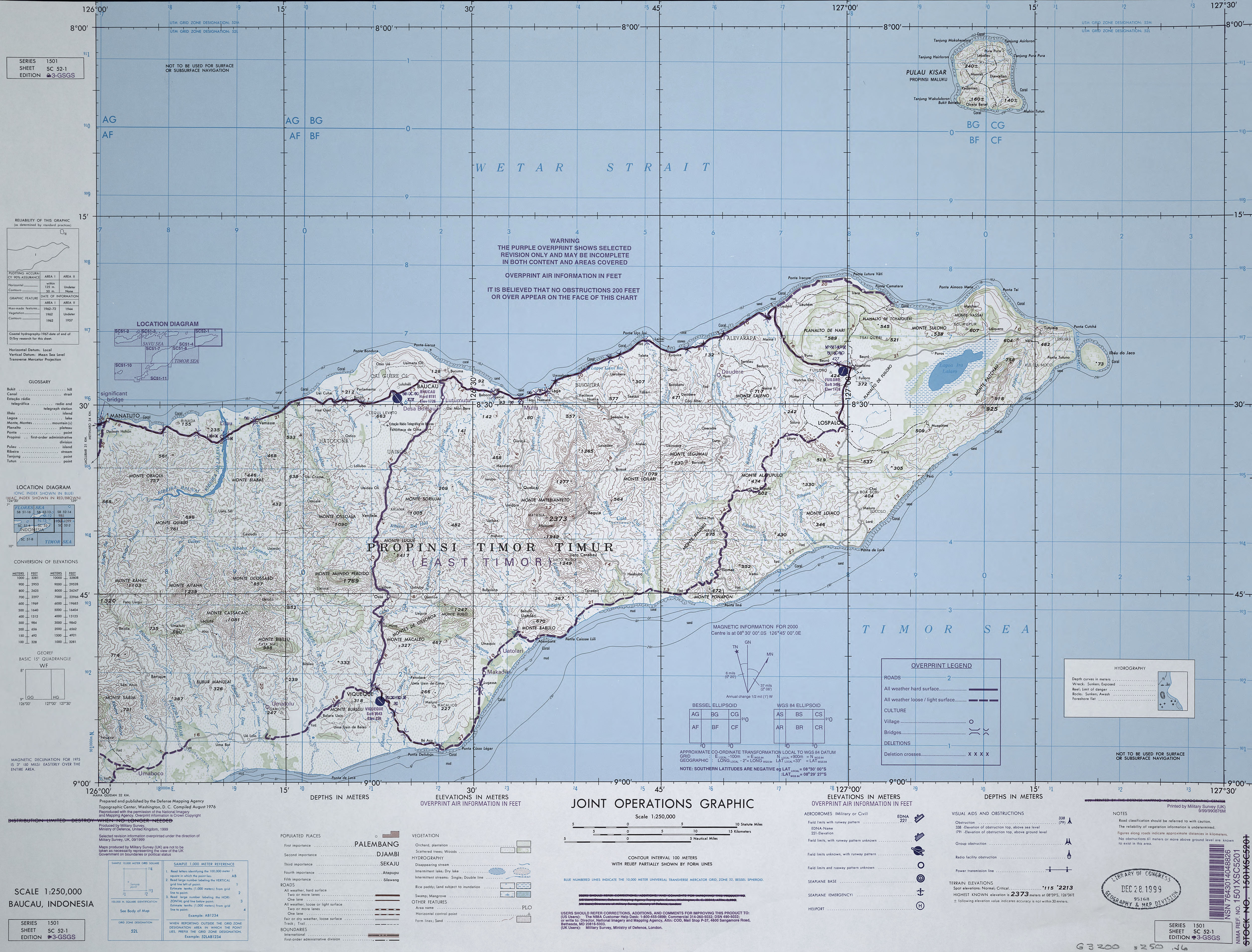 East Timor Maps - Perry-Castañeda Map Collection - UT