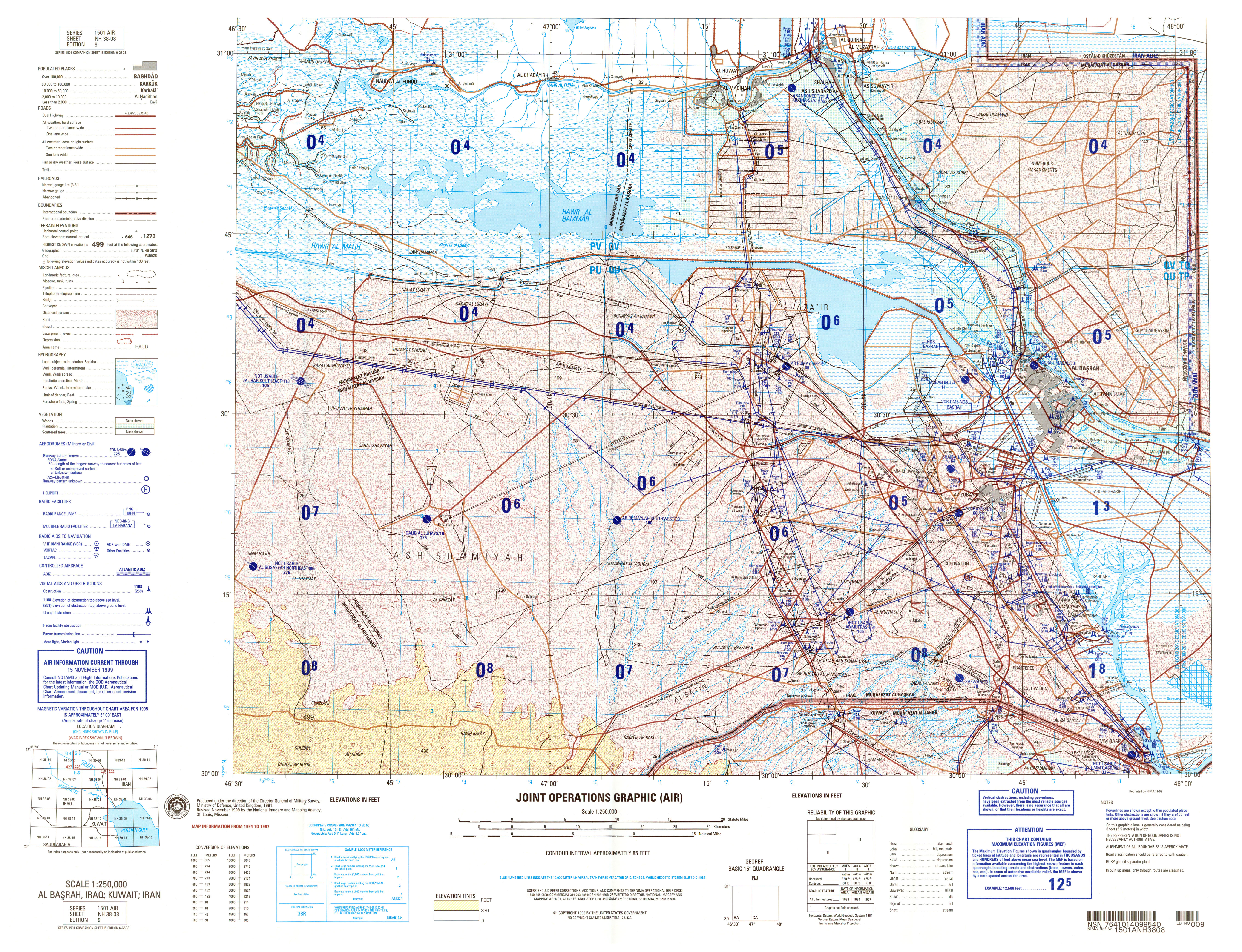 Iraq Joint Operations Graphic PerryCastañeda Map Collection - Map nh