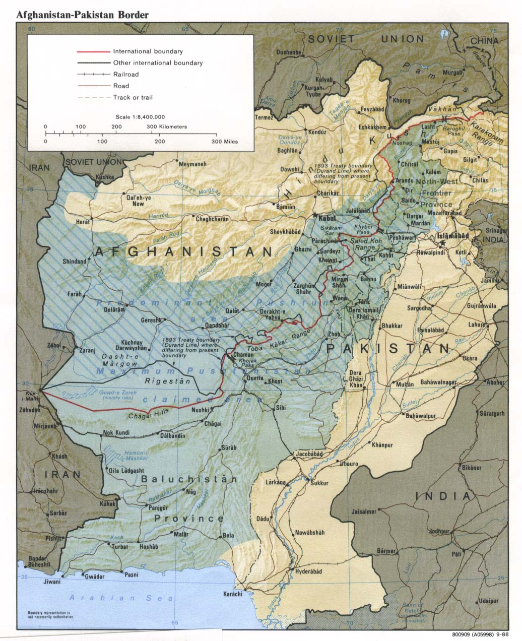 Carte Afghanistan Pakistan.Afghanistan Maps Perry Castaneda Map Collection Ut