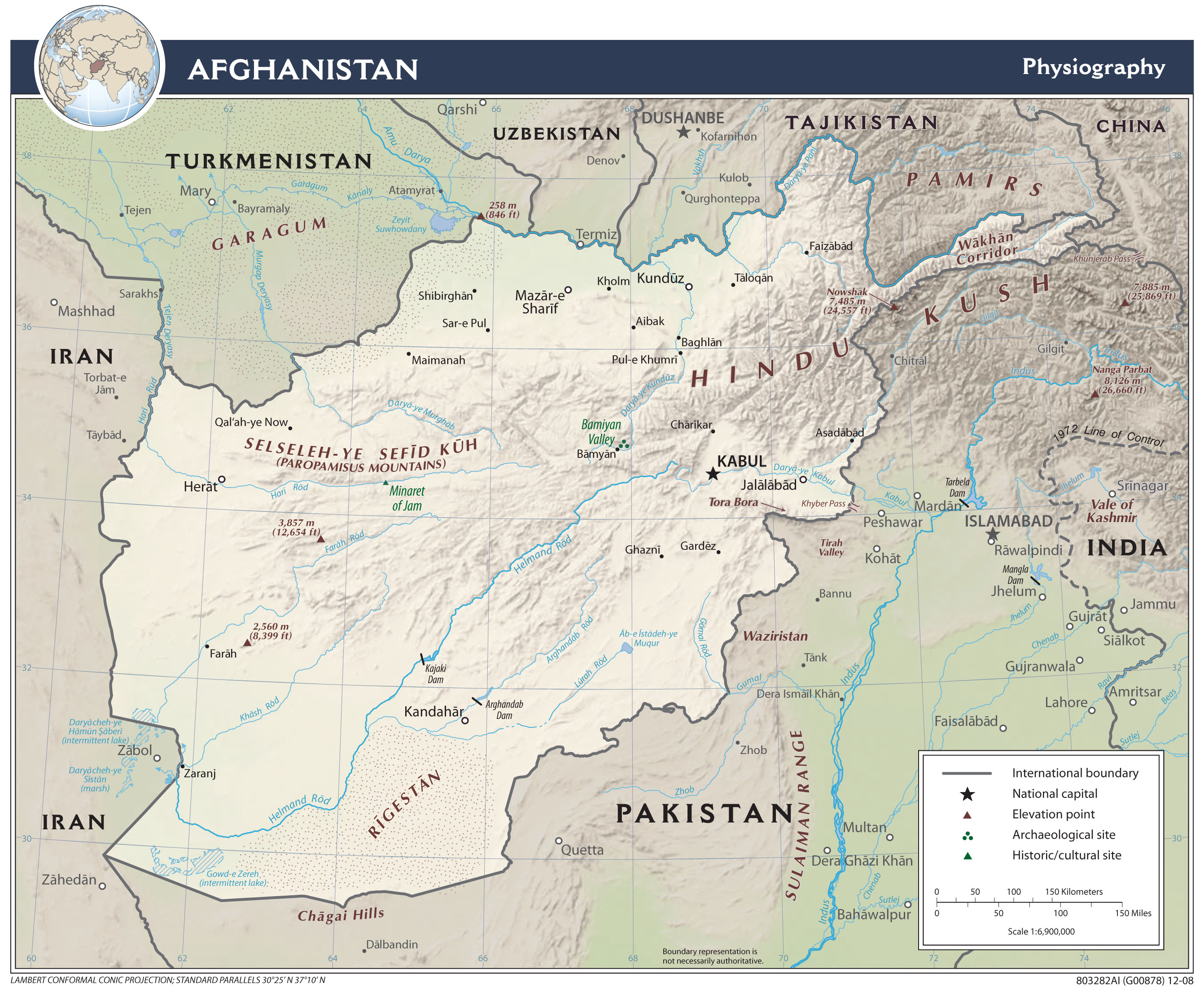 Afghanistan Maps PerryCastañeda Map Collection UT Library Online - Afghanistan map
