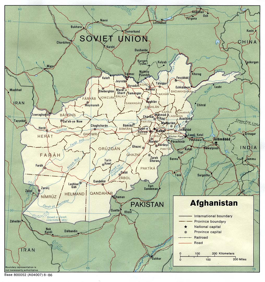 Afghanistan maps perry castaeda map collection ut library online afghanistan maps gumiabroncs Gallery