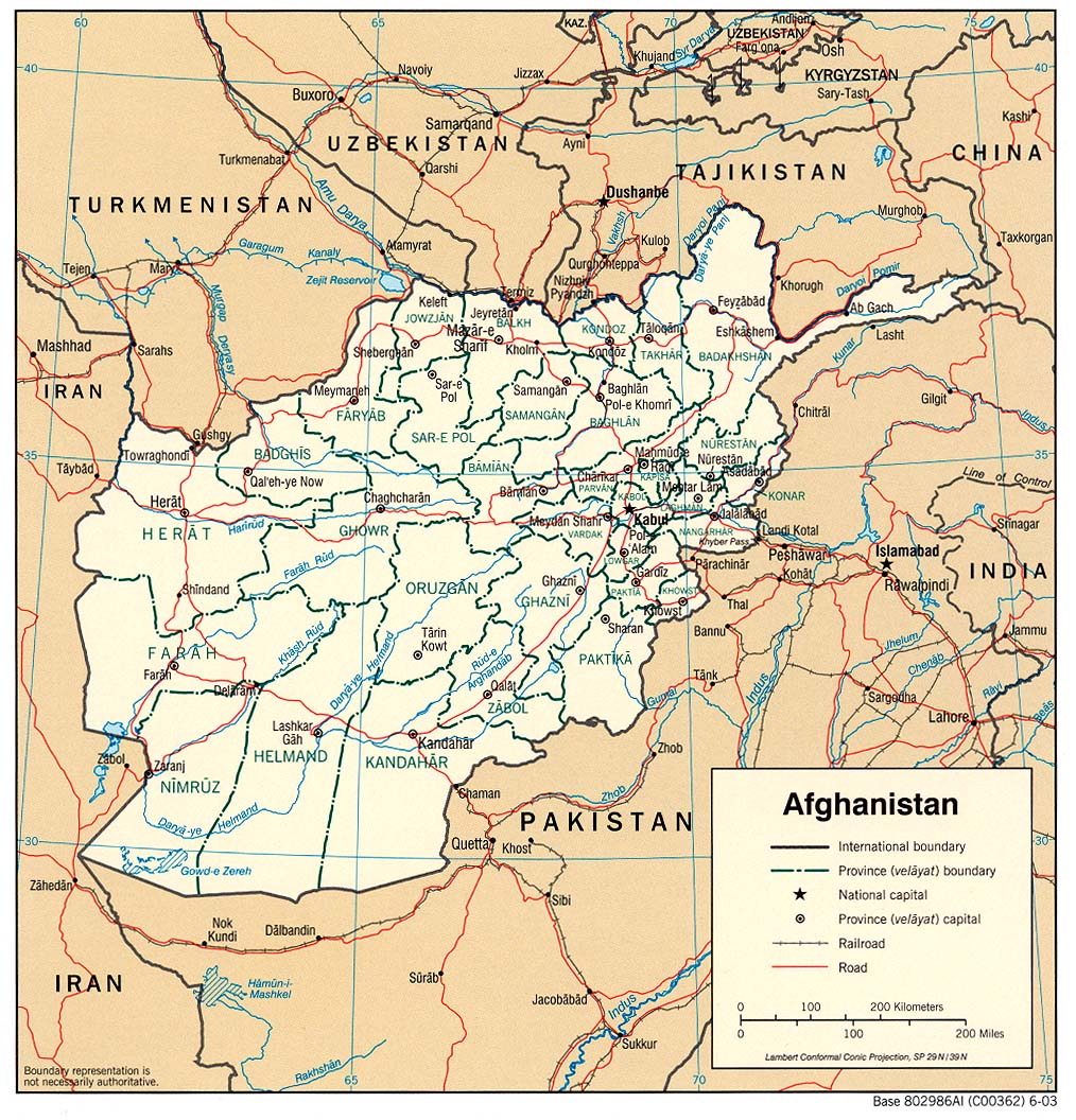 Afghanistan maps perry castaeda map collection ut library online map collection sciox Images