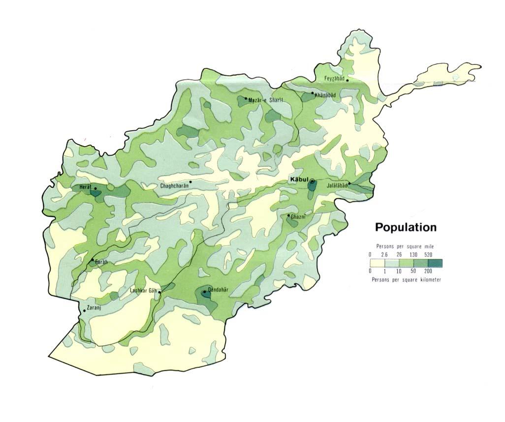 The Tajikistan Update - Maps of Afghanistan