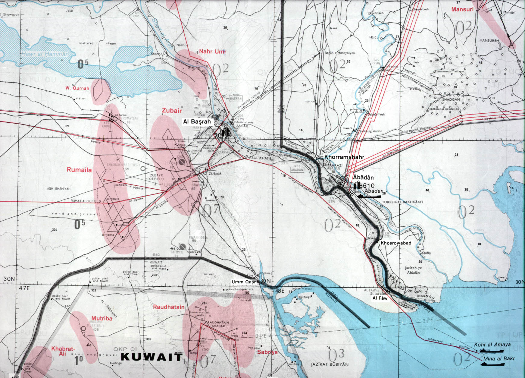 Kuwait Maps - Perry-Castañeda Map Collection - UT Library Online
