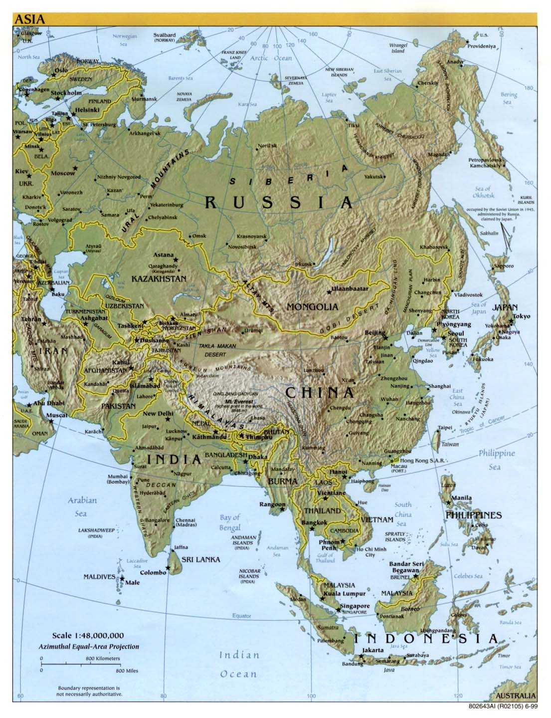 Asia maps perry castaeda map collection ut library online asia maps gumiabroncs Image collections