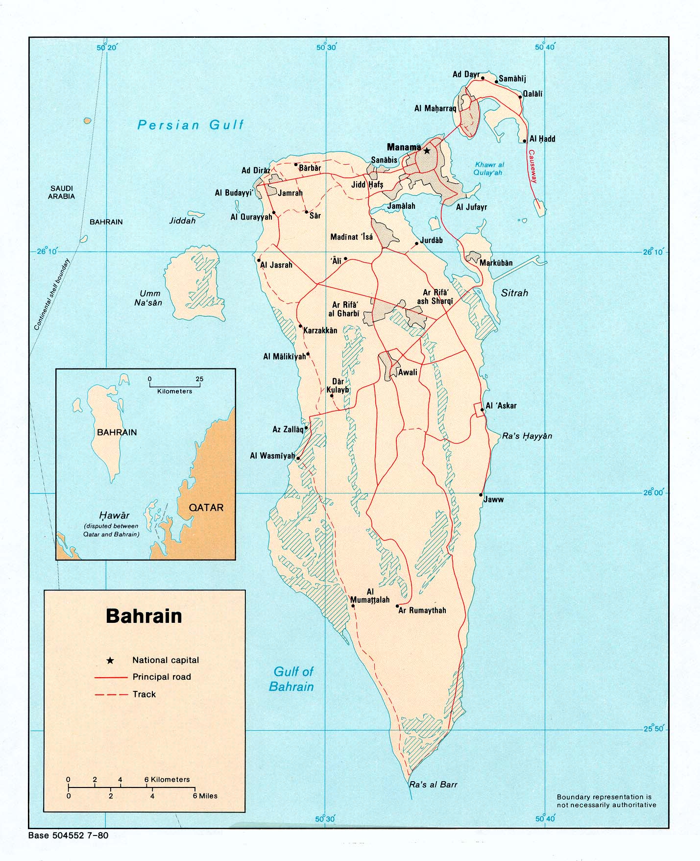 Bahrain Maps Perry Casta eda Map Collection UT Library Online