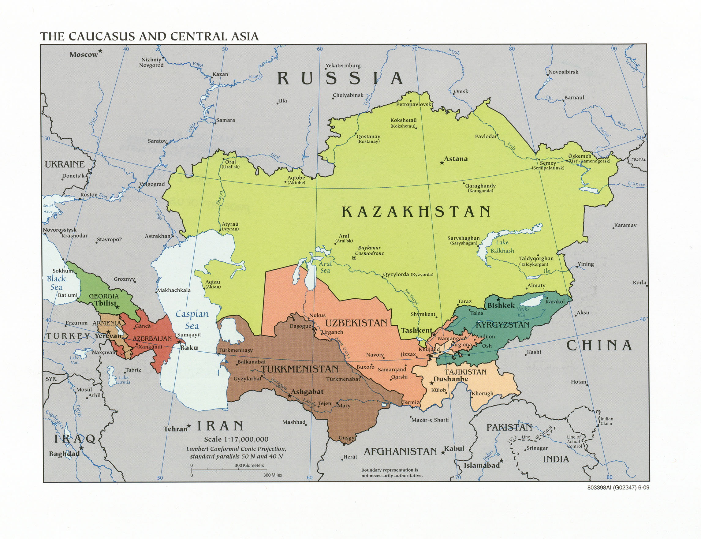 caucasus and central asia