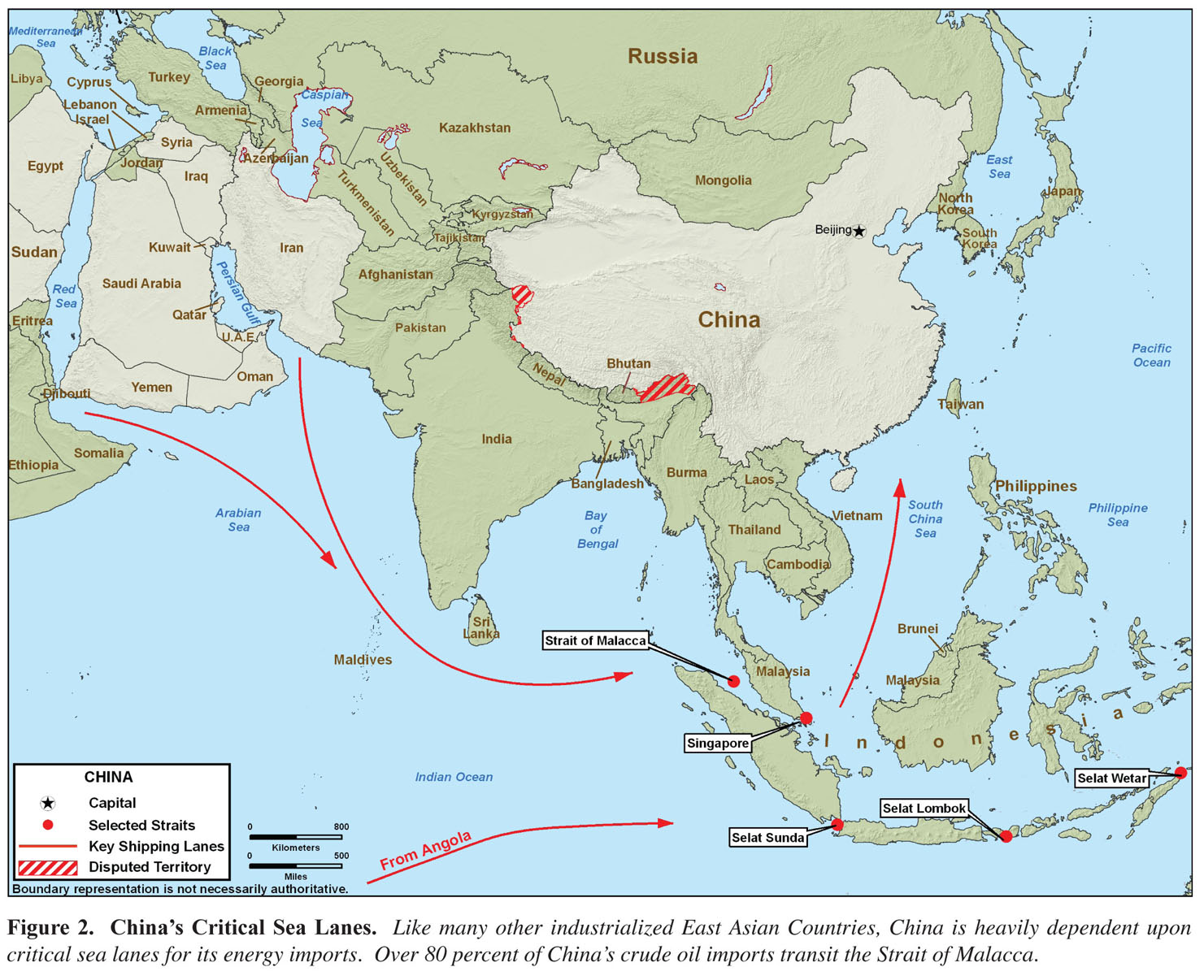 Military Power of the Peoples Republic of China 2008 Maps  Perry
