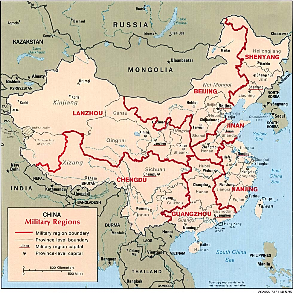Region Of China Map.China Maps Perry Castaneda Map Collection Ut Library Online
