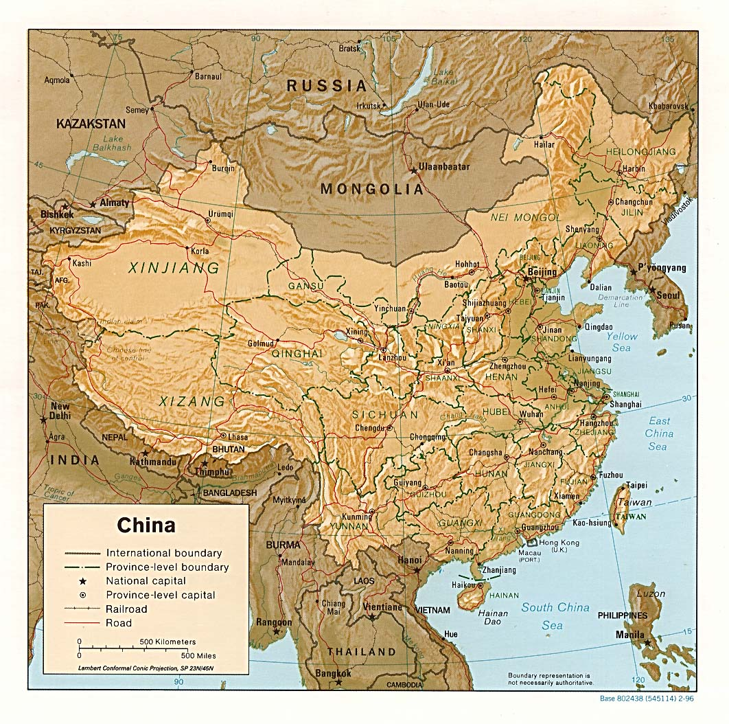 Chinese Geography: Readings and Maps | Asia for Educators