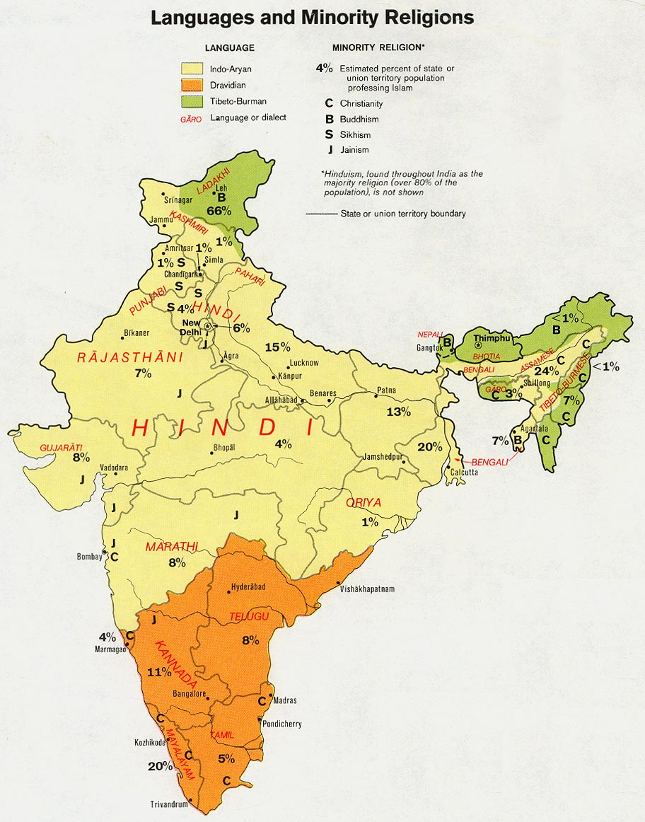 Bishnoi Hindu Traditions In India Joshua Project - Language wise map of world