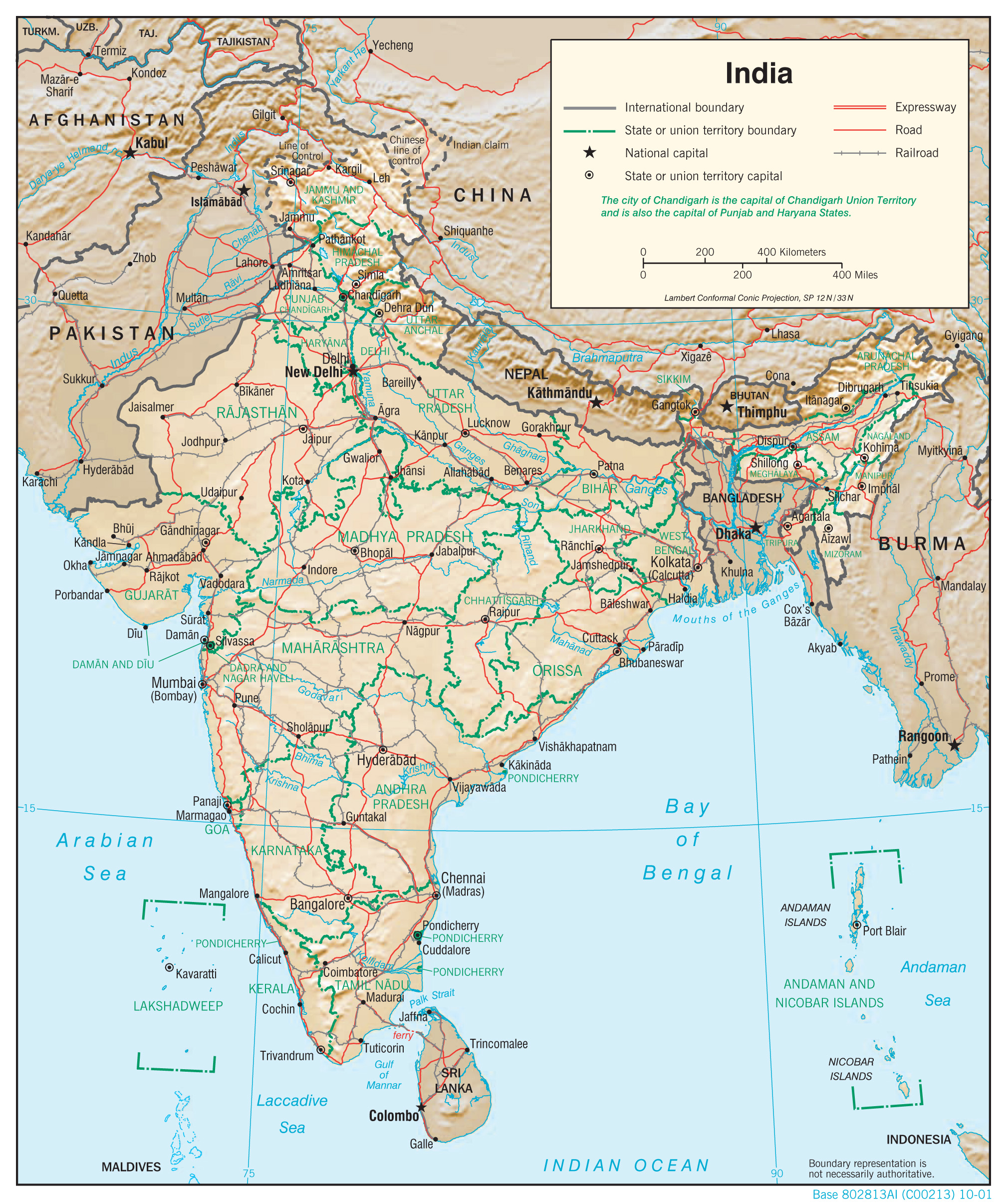 on phyiso nt map of india images