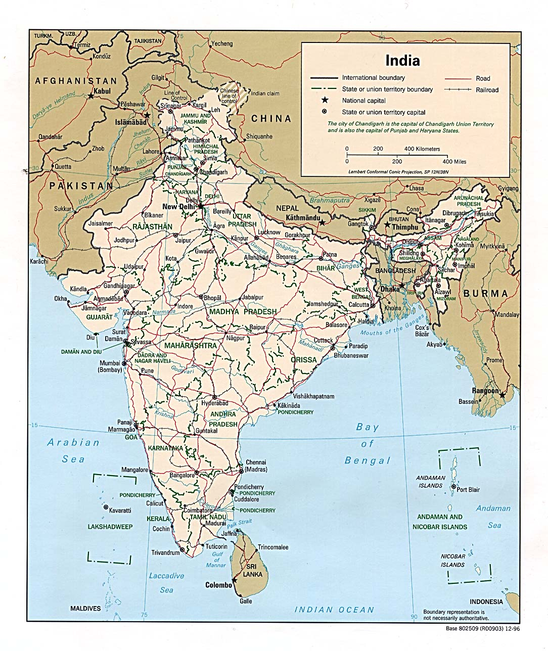 India maps perry castaeda map collection ut library online map collection gumiabroncs Gallery