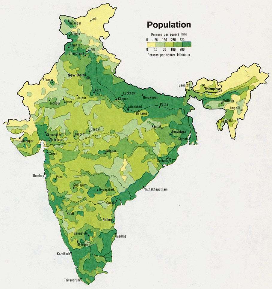India maps perry castaeda map collection ut library online india population gumiabroncs Gallery