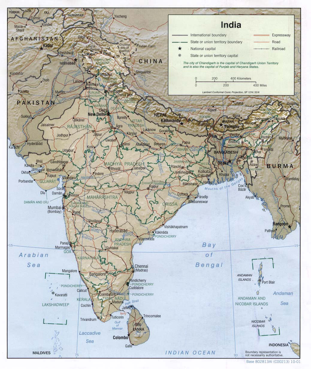 India Maps PerryCastaeda Map Collection UT Library Online
