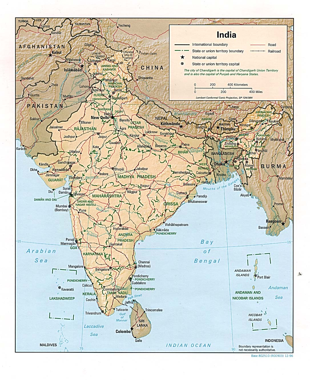 India maps perry castaeda map collection ut library online map collection gumiabroncs Images