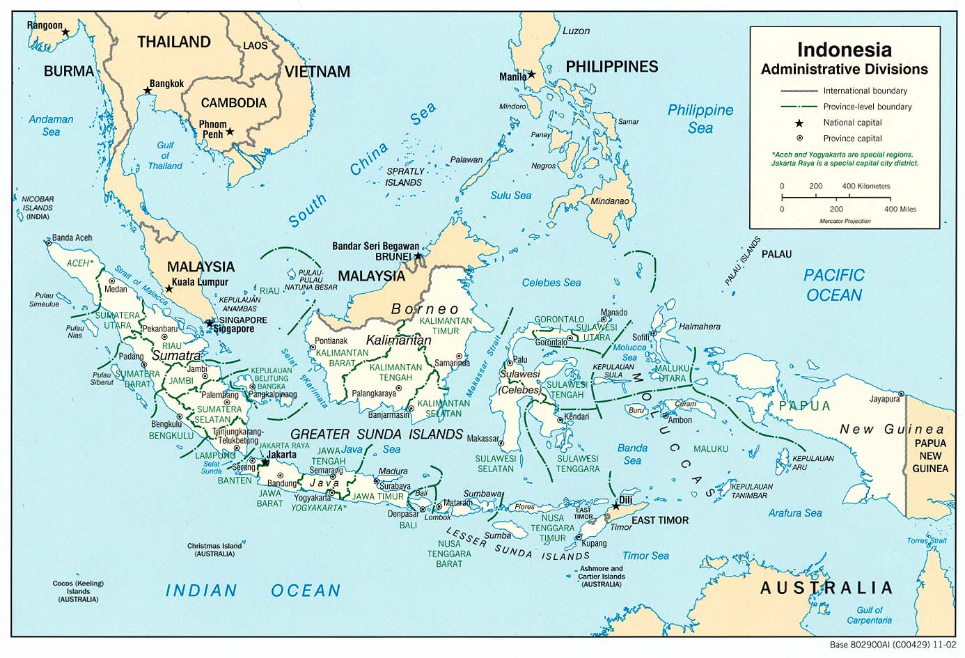 Indonesia maps perry castaeda map collection ut library online indonesia administrative divisions gumiabroncs Images