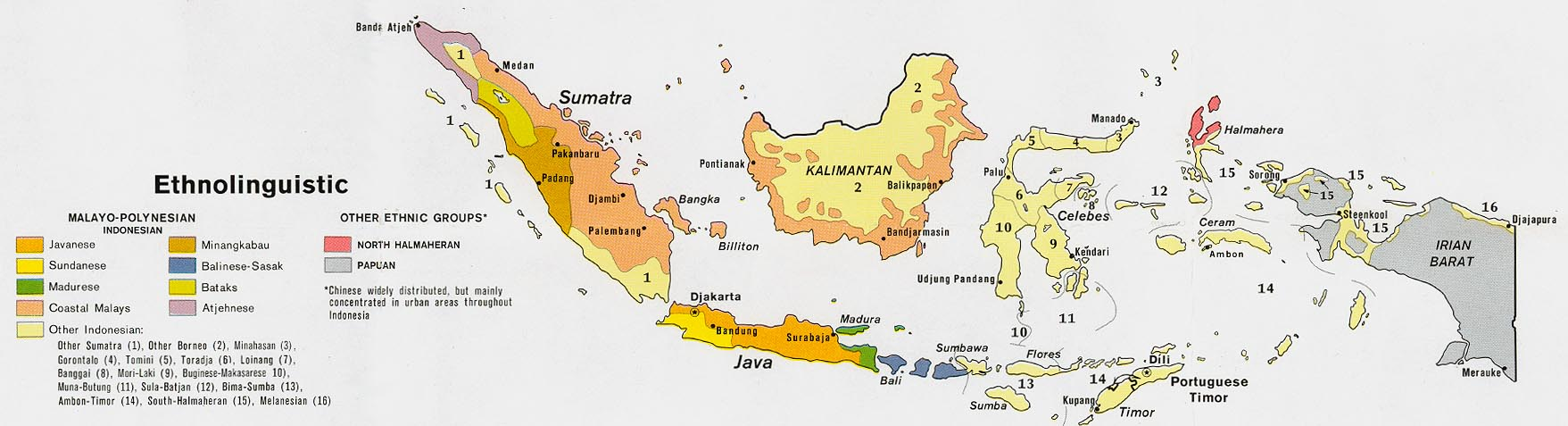 Indonesia maps perry castaeda map collection ut library online indonesia ethnolinguistic sciox Image collections