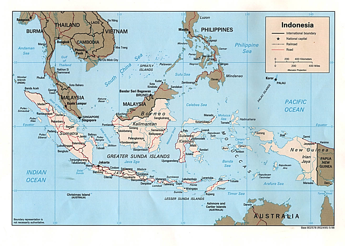 Indonesia Maps - Perry-Castañeda Map Collection - UT Library Online