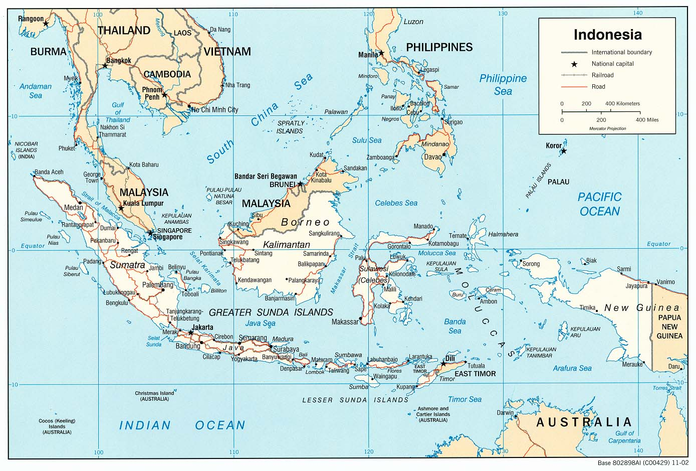 indonesia mapa Indonesia Maps   Perry Castañeda Map Collection   UT Library Online indonesia mapa