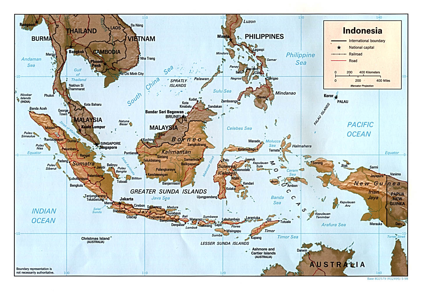 Maps Of Indonesia - Indonesia map