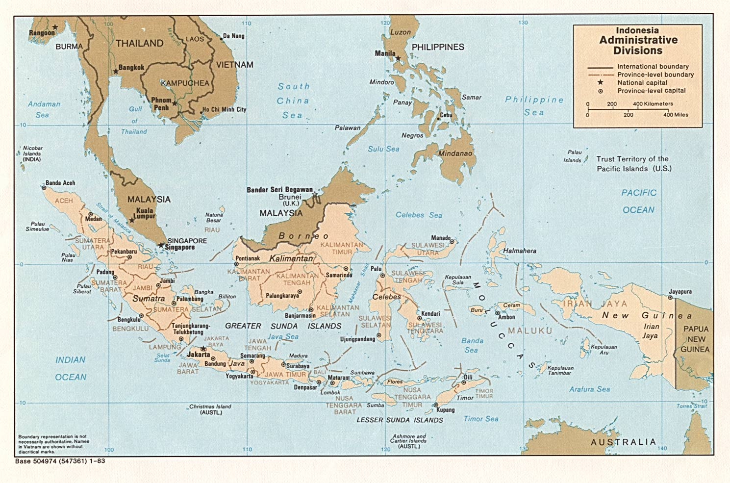 Indonesia Maps PerryCastañeda Map Collection UT Library Online - Burma clickable map