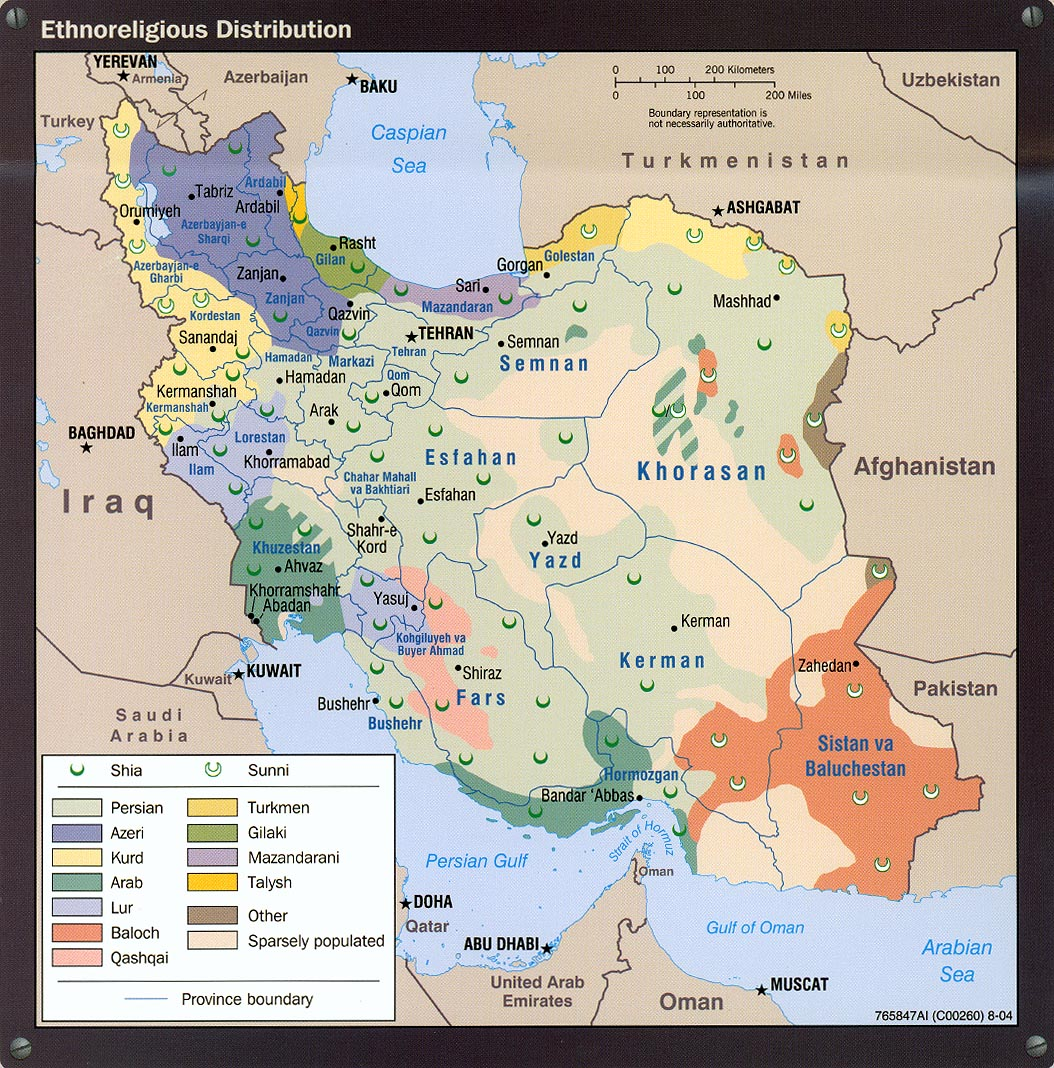 Iran maps perry castaeda map collection ut library online map collection iran maps gumiabroncs Gallery